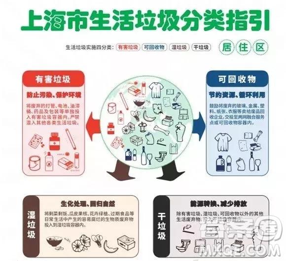 对上海生活垃圾分类怎么看作文 关于对上海生活垃圾分类怎么看的作文800字